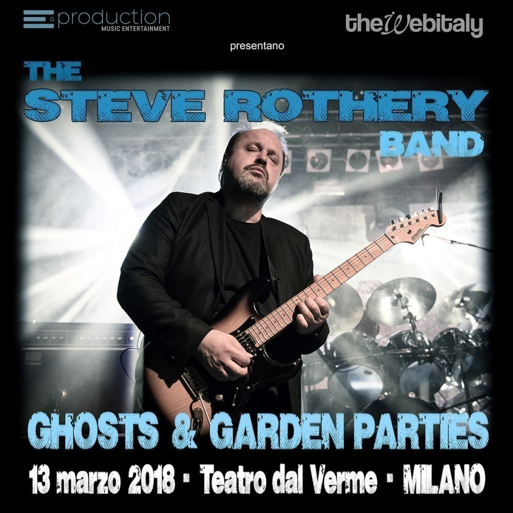 Steve Rothery Band a Milano!