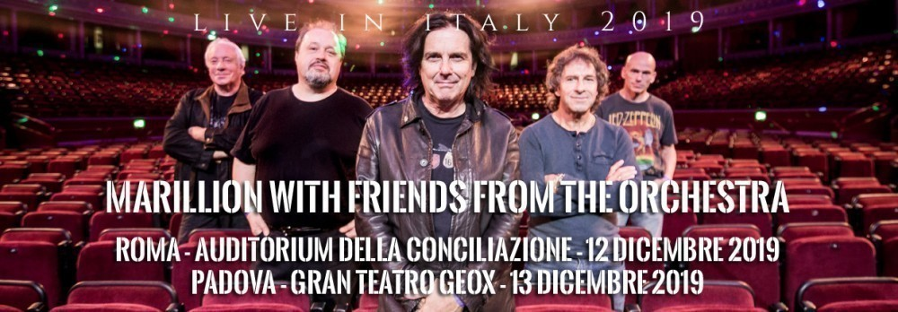 MARILLION LIVE IN ITALY 2019